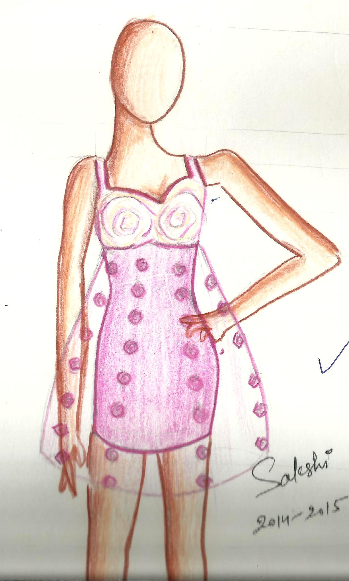 FASHION DESIGN DRAWINGS